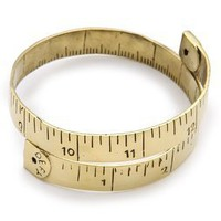 Monserat De Lucca Measuring Tape Bracelet | SHOPBOP