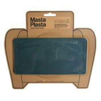 MastaPlasta - Leather Repair Plasta 8 inches by 4 inches Plain Design GREEN