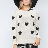 Hearts Cozy Sweater