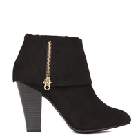 Fold Over Ankle Bootie