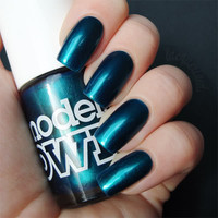 lacquerized. - a blog about nail polish: Models Own - Peacock Green
