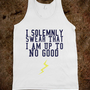 I Solemnly Swear That I Am Up To No Good Tank - Party Clothes