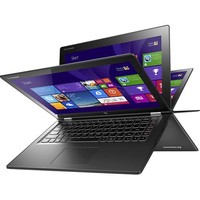 "Lenovo - Yoga 2 2-in-1 13.3"" Touch-Screen Laptop - Intel Core i5 - 8GB Memory - 128GB Solid State Drive - Black"