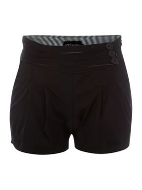 Three button shorts