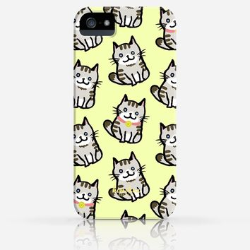 Cute Cat Pattern iPhone 4/4s iPhone 5/5s Case