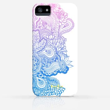 Zentangle Drawing Pattern iPhone 4/4s iPhone 5/5s Case