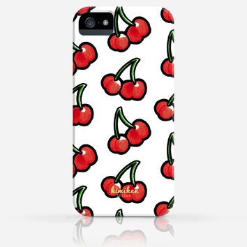 Cute Cherries Pattern iPhone 4/4s iPhone 5/5s Case