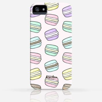 Cute French Macarons Desserts iPhone 4/4s iPhone 5/5s Case