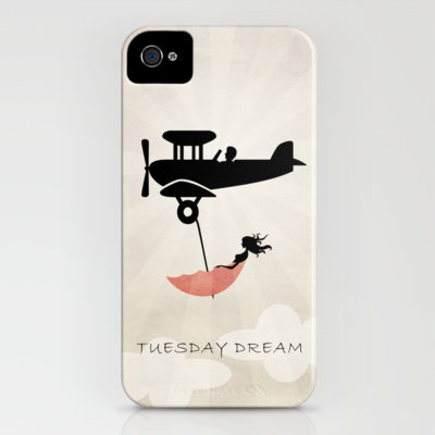 My Tuesday Dream - Umbrella Fantasy iPhone Case by Belle13 | Society6