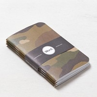 Word. Printed Notebook, Camo Print | American Eagle Outfitters