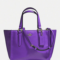 COACH CROSBY MINI CARRYALL IN SMOOTH LEATHER | Dillards.com