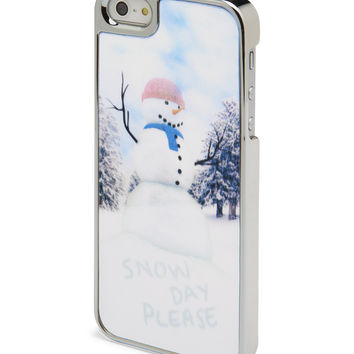 Aeropostale Lenticular Frosty Phone Case - Silver,