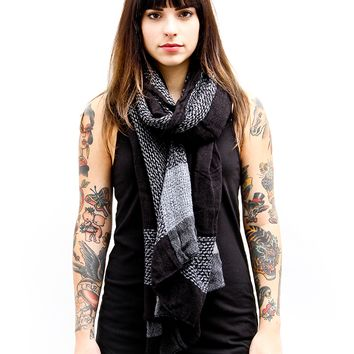 "Unisex ""Tonal Plaid"" Scarf (More Colors Available)"