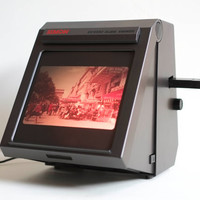 Modern 1980s Vintage Simon SV 5000 Slide Photography Viewer