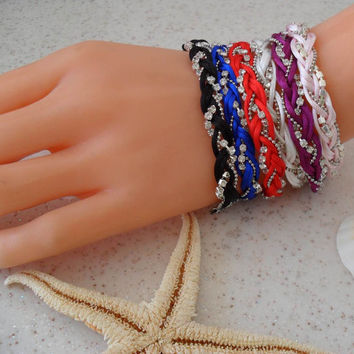 Colorful Bracelets - Summer Style - For Beach - Choose only one - 6 different colors