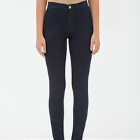 FOREVER 21 Skinny Mid-Rise Jeans