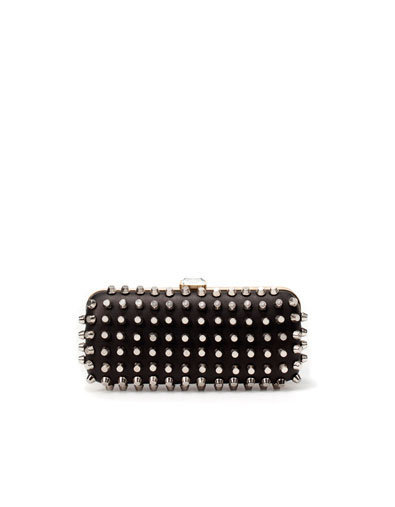 STUDDED EVENING BOX BAG - Handbags - Woman - New collection - ZARA United States