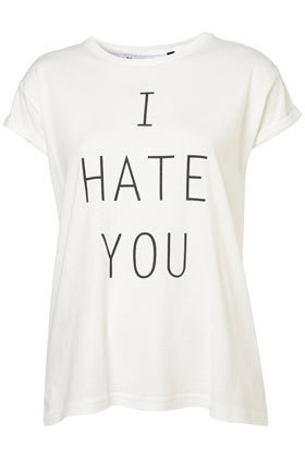 I Hate You Tee By Tee And Cake - New In This Week  - New In