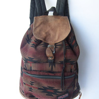 Vintage Jansport Ethnic Backpack