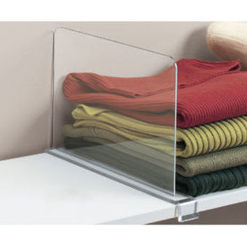 Acrylic Shelf Divider