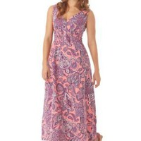 Woman Within Plus Size Petite dress in soft knit, maxi length: Amazon.com: Clothing