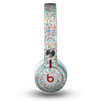 The Colorful Small Sprinkles Skin for the Beats by Dre Mixr Headphones - Default