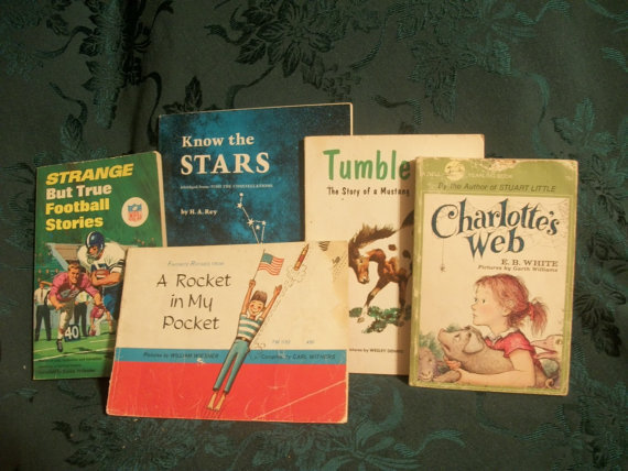Thirteen 1940&#x27;s, 1950&#x27;s and 1960&#x27;s Children&#x27;s Books - Classics, Fiction, Non-Fiction, Fun