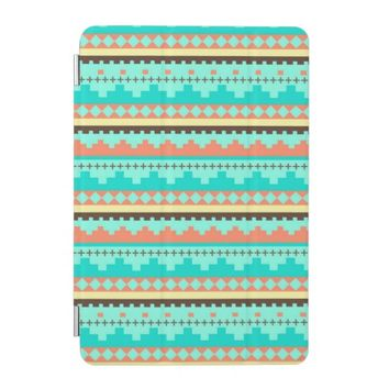 Ikat Mayan Aztec Andes Tribal Pattern iPad Mini Cover