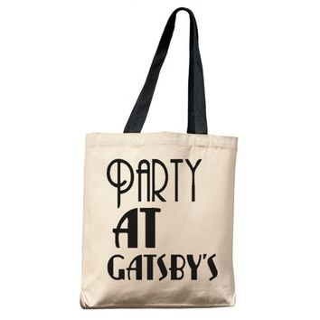 Party At Gatsby's Tote Bag