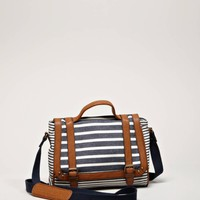 AEO Striped Satchel | American Eagle Outfitters
