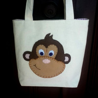 Canvas Tote Bag MonkeyTote Small