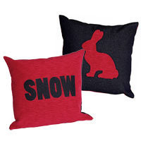 Snow Angel :: Apres :: Cushions :: Snow/Bunny Cushion Set