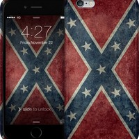 Vintage Confederate flag iPhone Cases & Skins by Bruce Stanfield | Nuvango