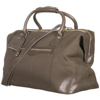 Canvas Frame Weekend Holdall - Bags & Wallets  - Accessories