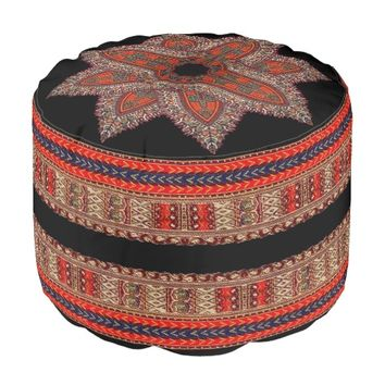 Hippie Indian Style Pouf