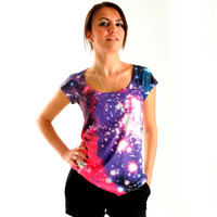 NEW ARRIVAL!! Galaxy Women T shirt, one side printed