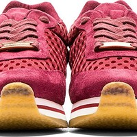 Burgundy Faux-Suede Tess.S.Gomm Sneakers42471F132005
