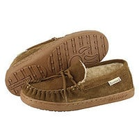 31419 0853903 Bearpaw MOC II HICKORY BEIGE 1295W 1295W HICKORY at BEARPAW Shoes