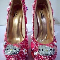 HELLO KITTY HEELS (Sparkle Kitty)