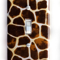 Giraffe Single Toggle Switchplate switch plate