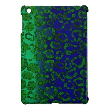 Florescent Blue Green Cheetah