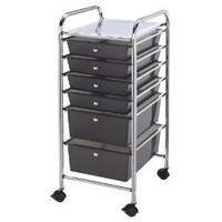 Advantus Cropper Hopper Home Center Rolling Cart, 10 Drawer Multi: Arts, Crafts & Sewing