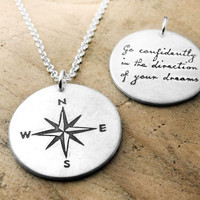 Go confidently in the direction of your dreams by lulubugjewelry
