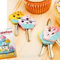 CUPCAKE KEY COVERS