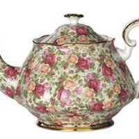 Amazon.com: Royal Albert Old Country Roses Chintz 42-Ounce Teapot: Kitchen & Dining
