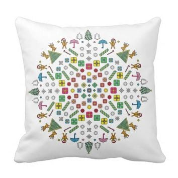Christmas - White Pillow