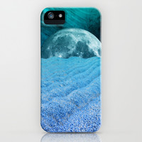 BLUE LAVENDER MOON iPhone & iPod Case by Catspaws | Society6