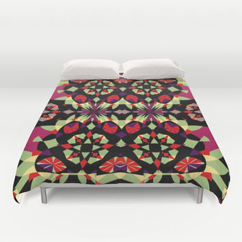 Mix #163 Duvet Cover by Ornaart | Society6