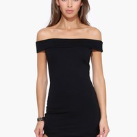 Nicole Off The Shoulder Cut Out Dress