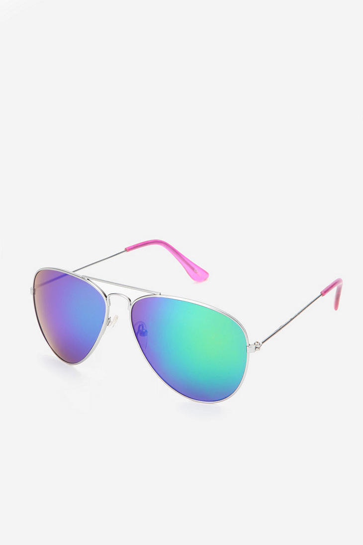 Revo Modern Aviator Sunglasses